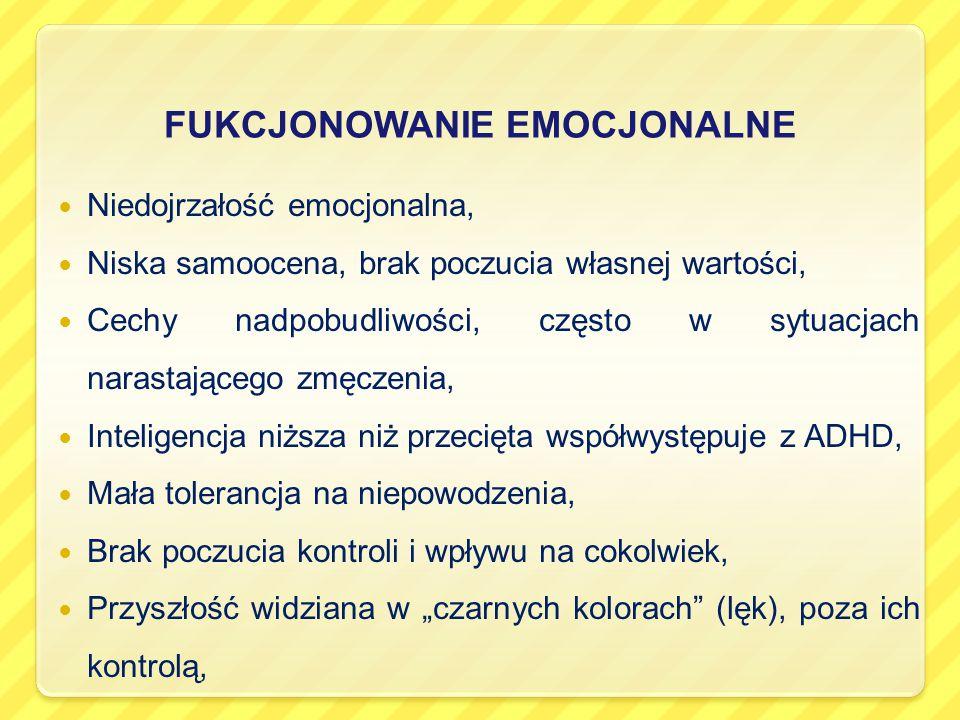 FUKCJONOWANIE EMOCJONALNE