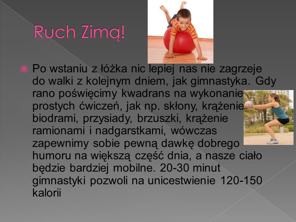 Ruch Zimą!
