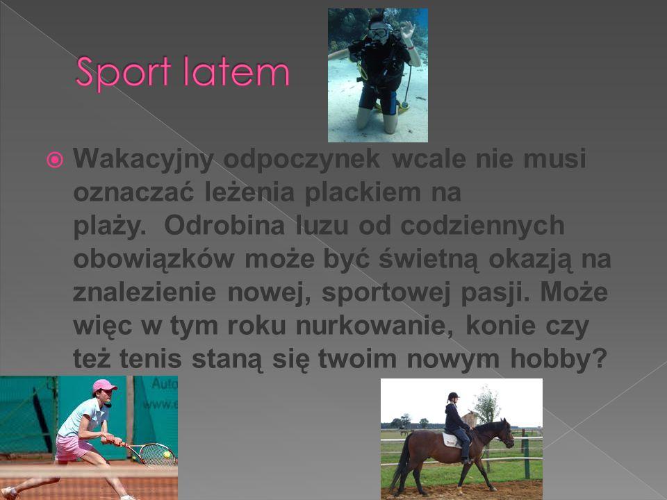 Sport latem