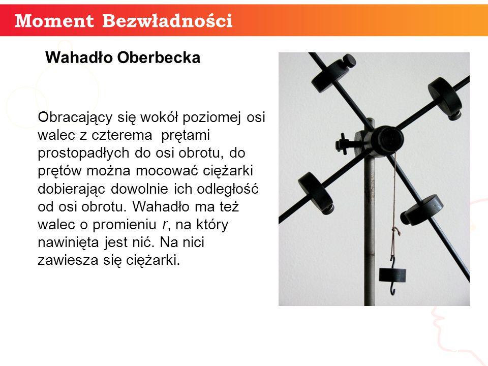Moment Bezwładności informatyka + Wahadło Oberbecka