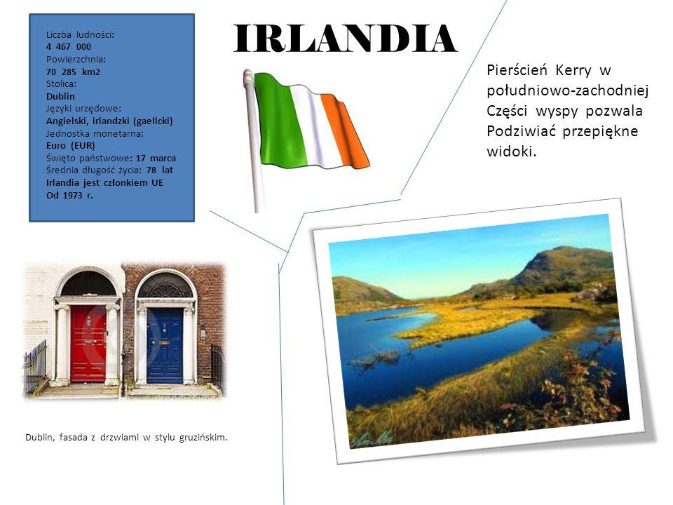 IRLANDIA Pierścień Kerry w południowo-zachodniej Części wyspy pozwala