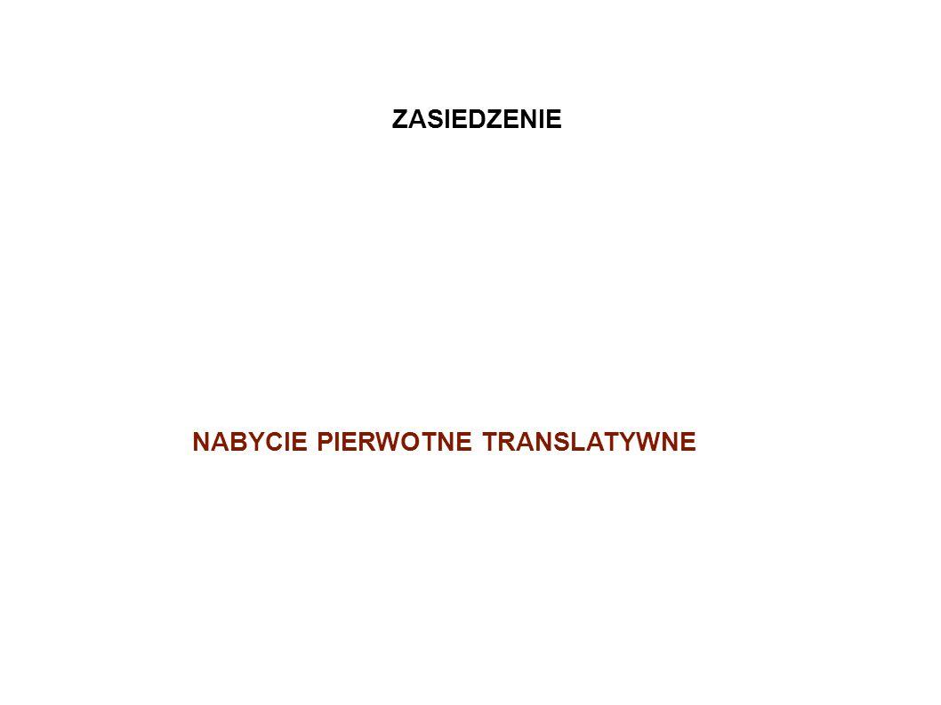 NABYCIE PIERWOTNE TRANSLATYWNE