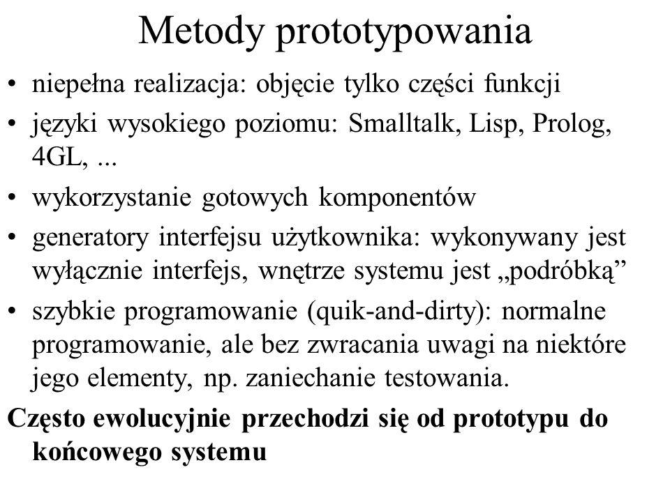 Metody prototypowania