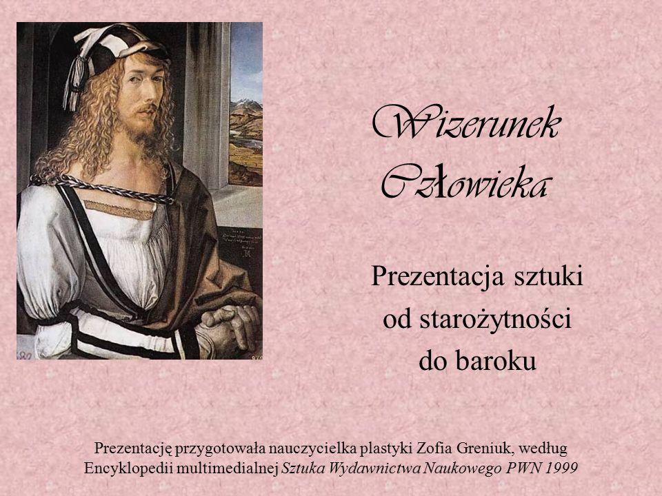 Prezentacja sztuki od starożytności do baroku