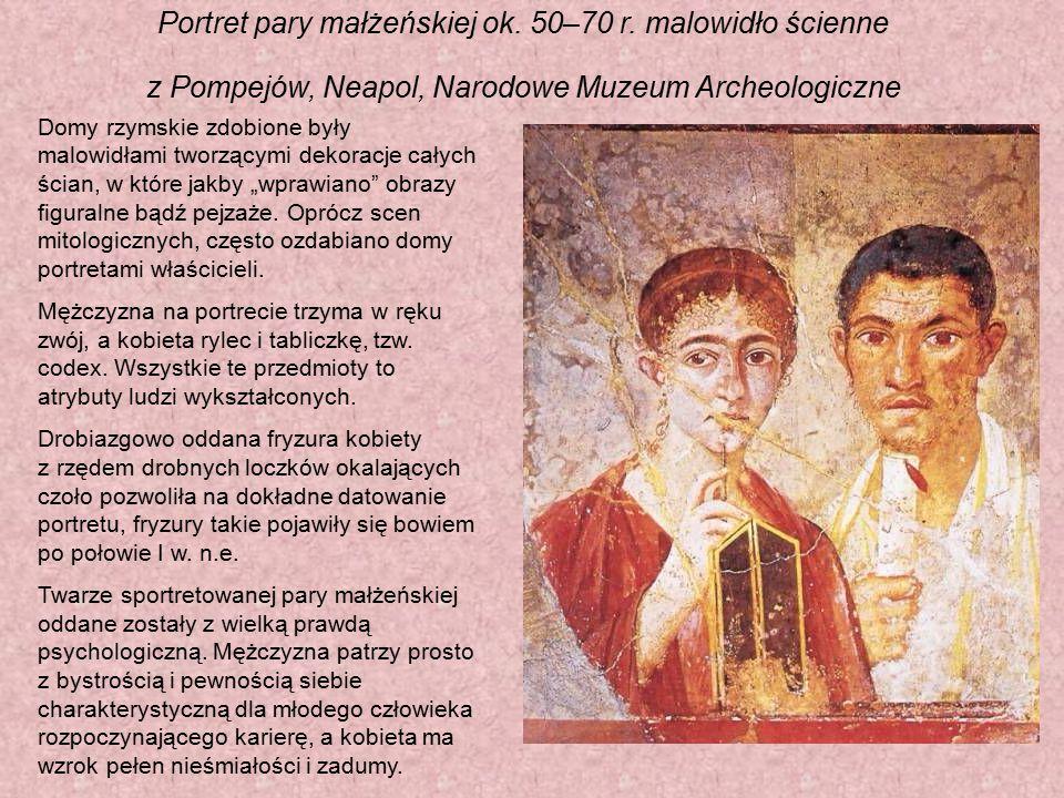 Portret pary małżeńskiej ok. 50–70 r