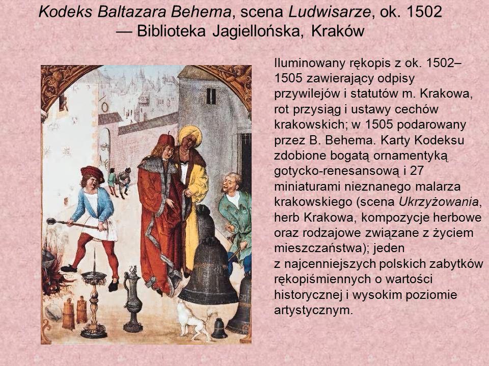 Kodeks Baltazara Behema, scena Ludwisarze, ok