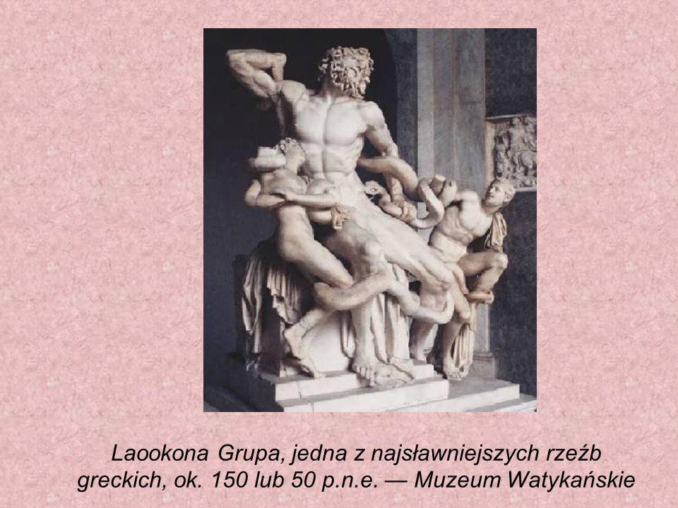 Laookona Grupa, jedna z najsławniejszych rzeźb greckich, ok