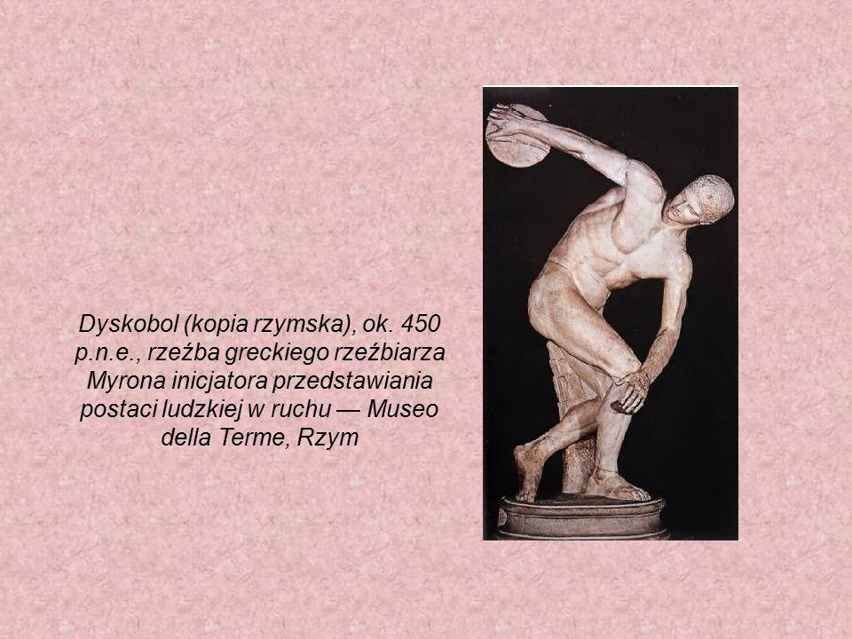 Dyskobol (kopia rzymska), ok. 450 p. n. e