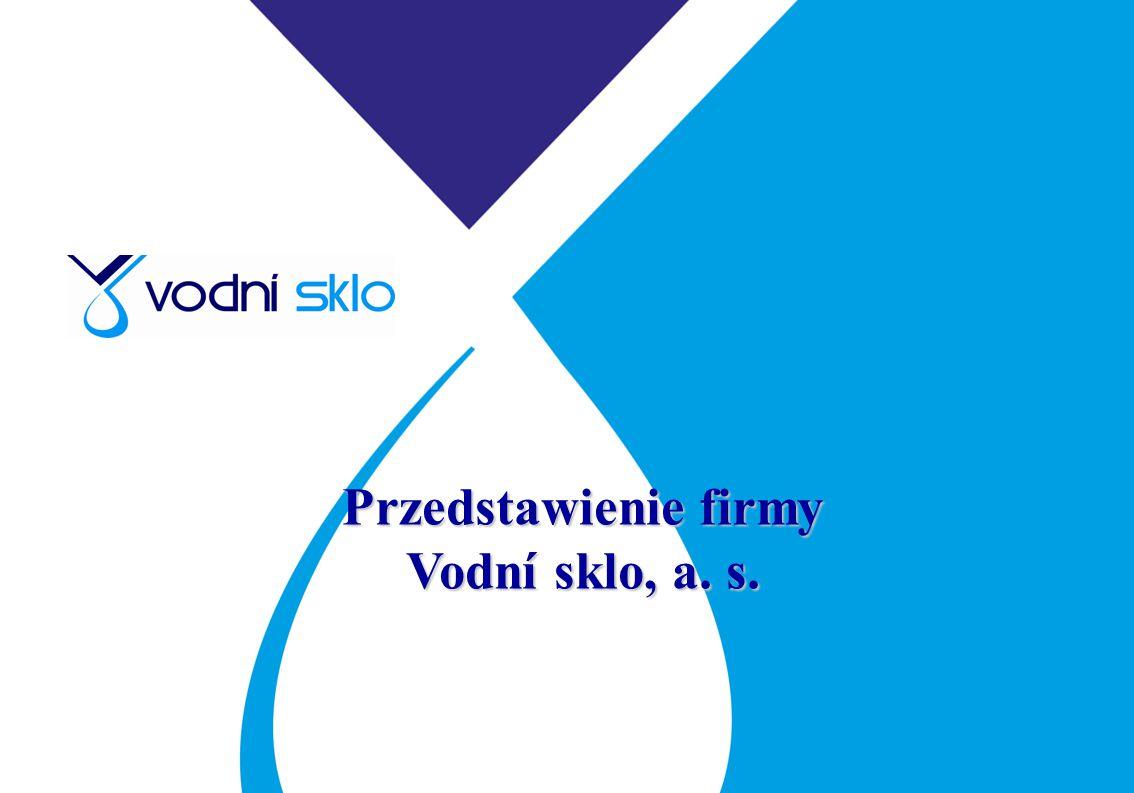 Przedstawienie firmy Vodní sklo, a. s.