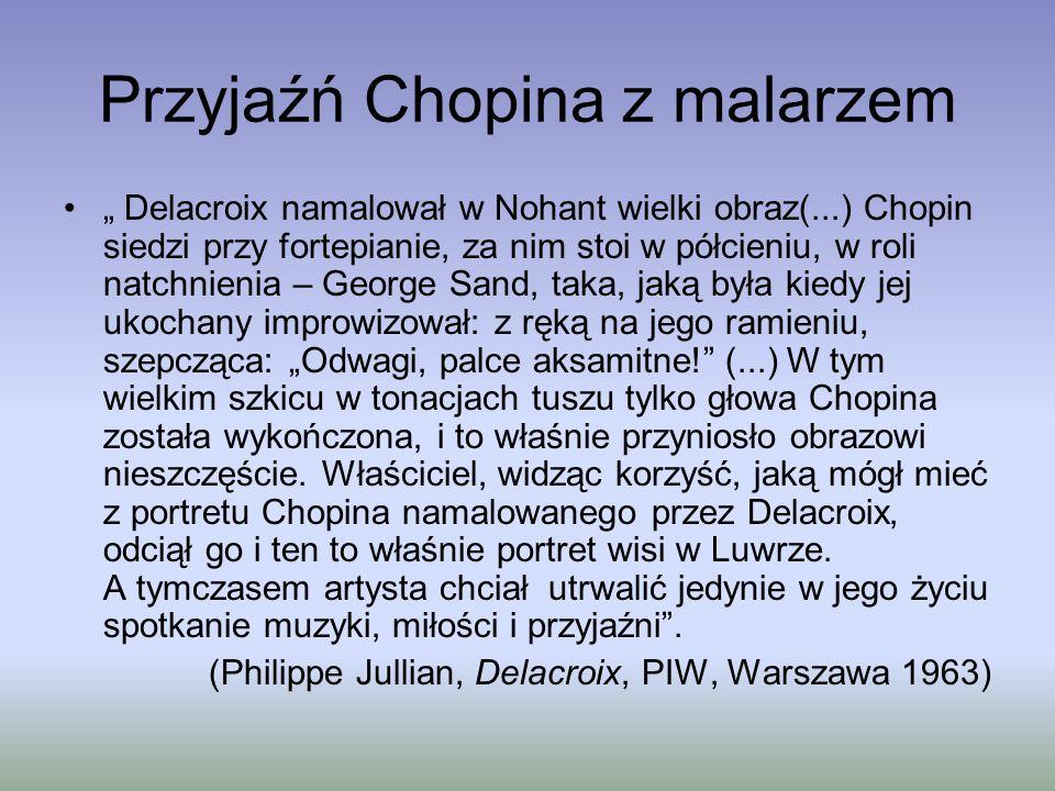 Przyjaźń Chopina z malarzem