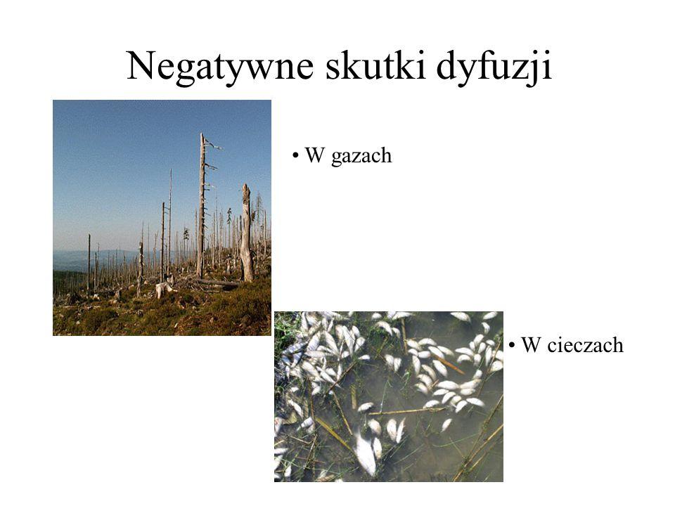 Negatywne skutki dyfuzji