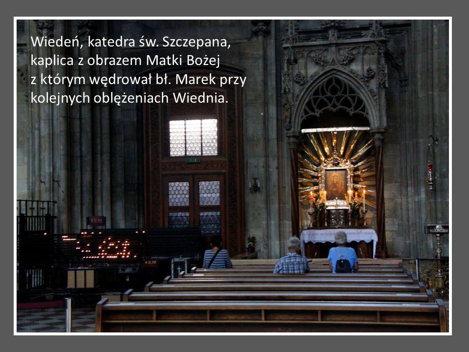 Wiedeń, katedra św. Szczepana, kaplica z obrazem Matki Bożej