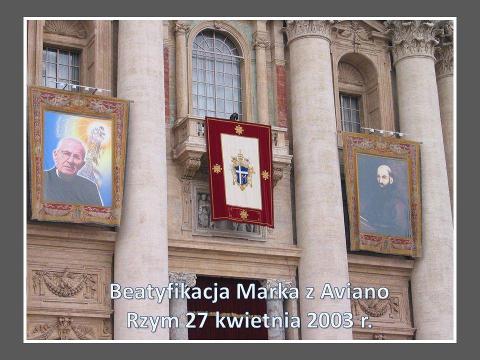 Beatyfikacja Marka z Aviano