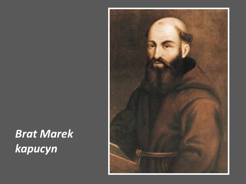 Brat Marek kapucyn