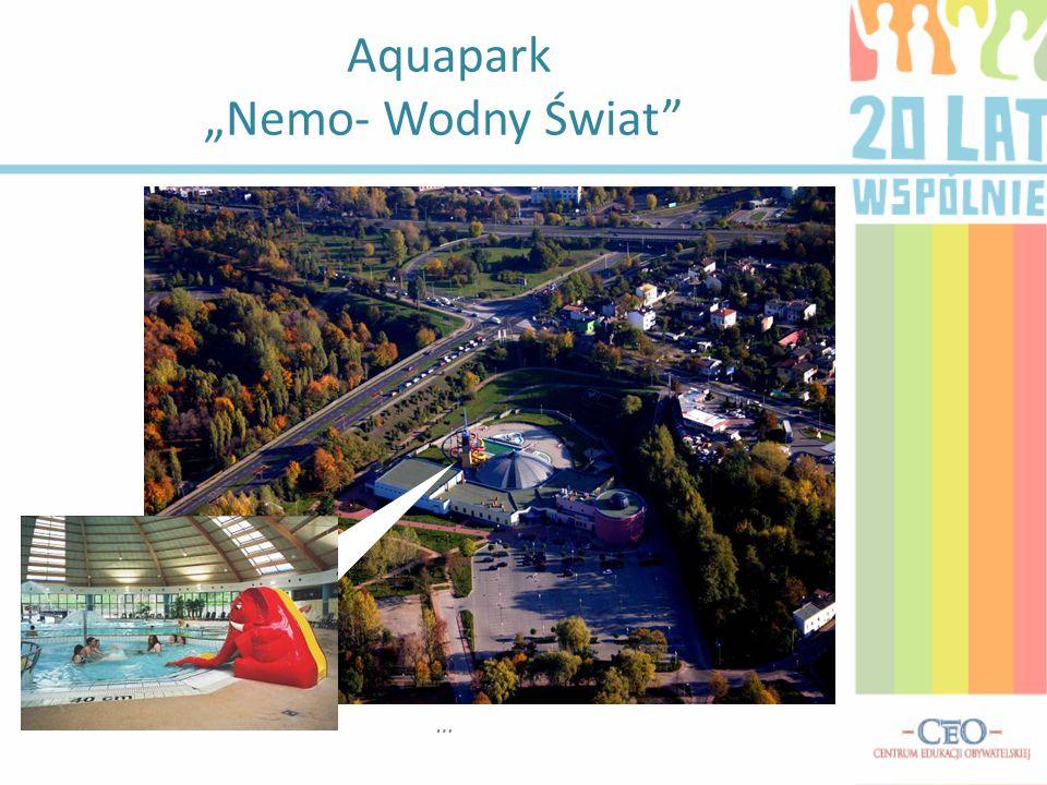 """Aquapark """"Nemo- Wodny Świat"""