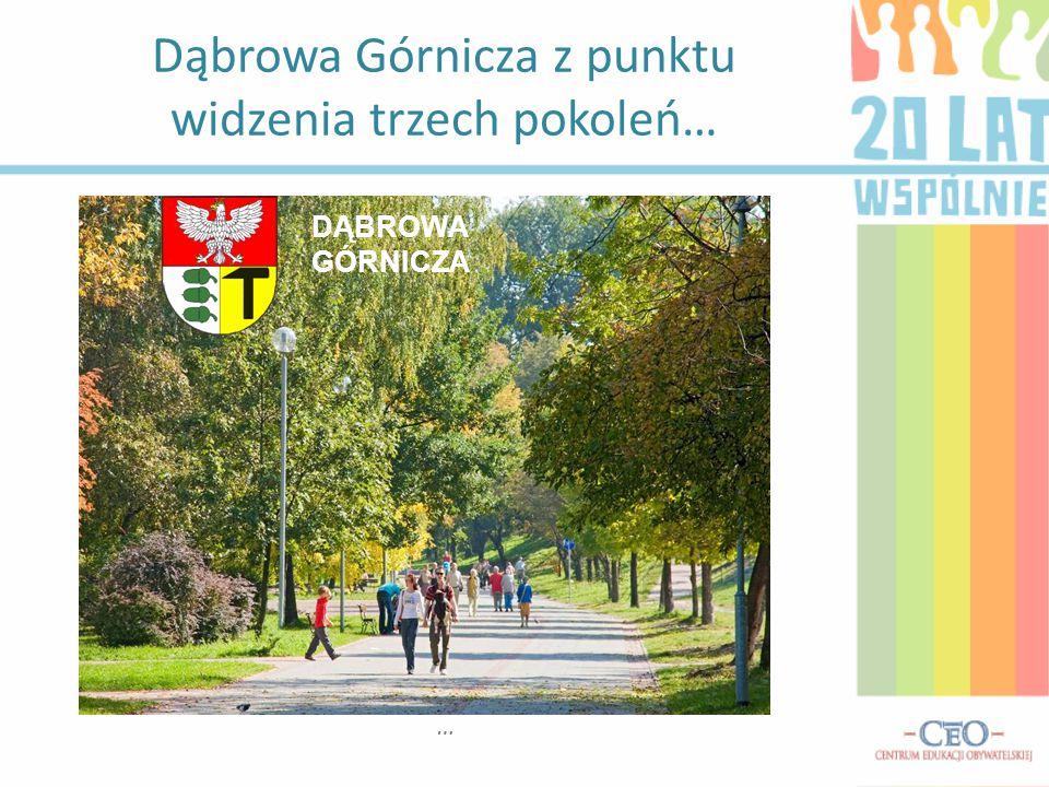 Dąbrowa Górnicza z punktu widzenia trzech pokoleń…