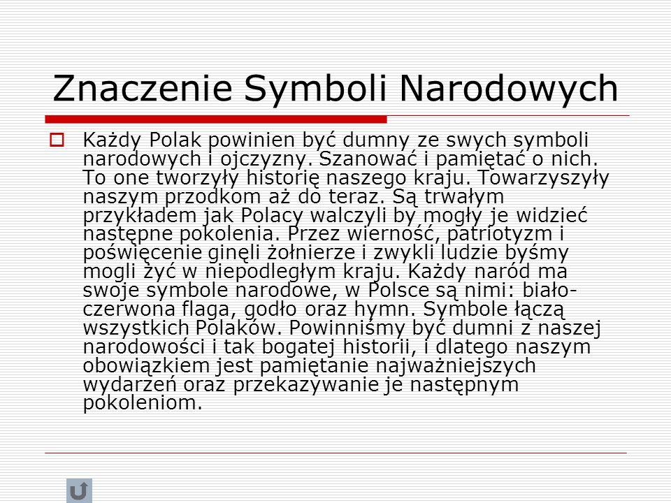 Znaczenie Symboli Narodowych