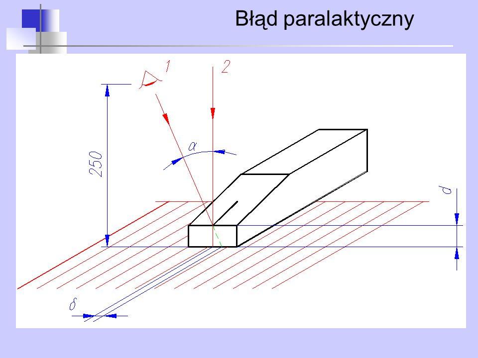 Błąd paralaktyczny