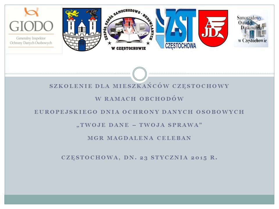 Szkolenie dla mieszkańców Częstochowy w ramach obchodów