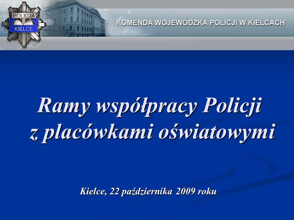 Ramy współpracy Policji z placówkami oświatowymi