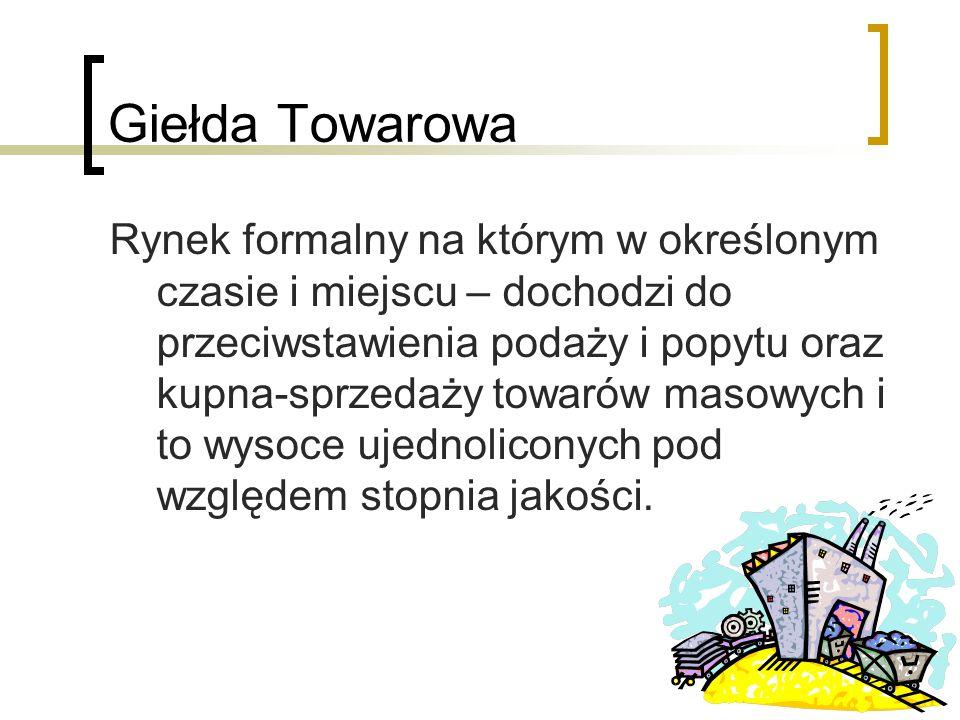Giełda Towarowa
