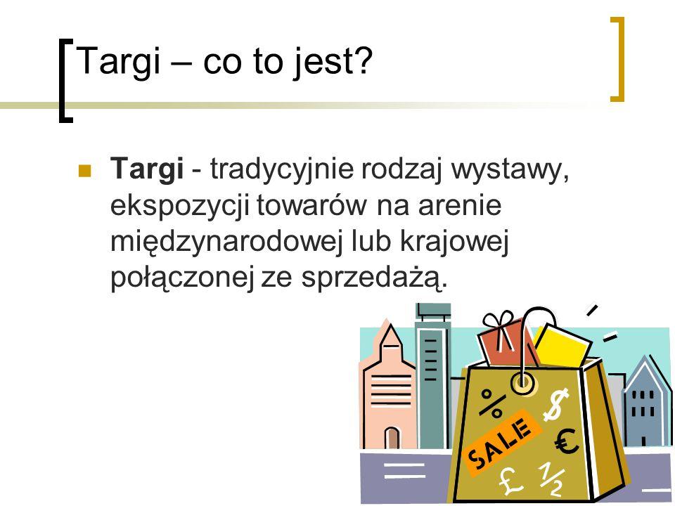 Targi – co to jest.