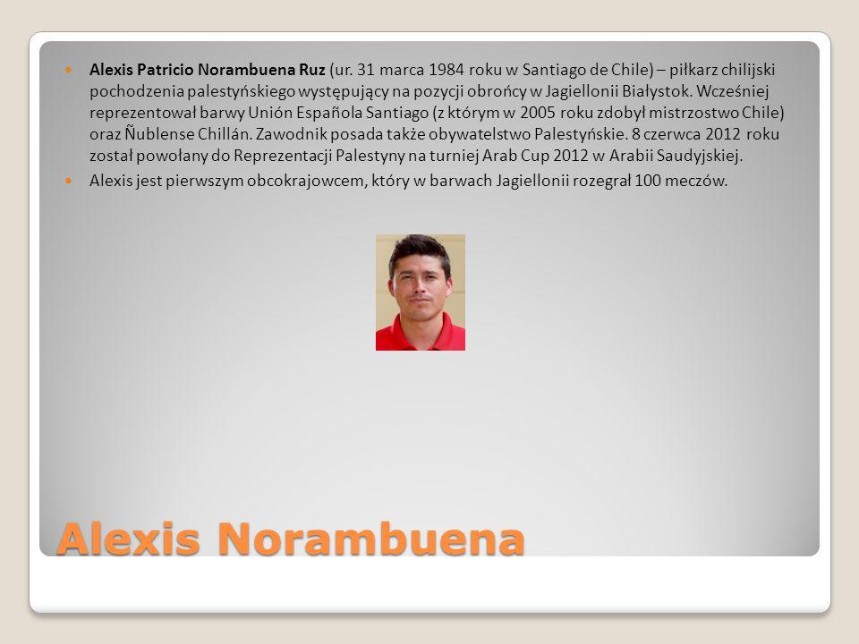 Alexis Patricio Norambuena Ruz (ur