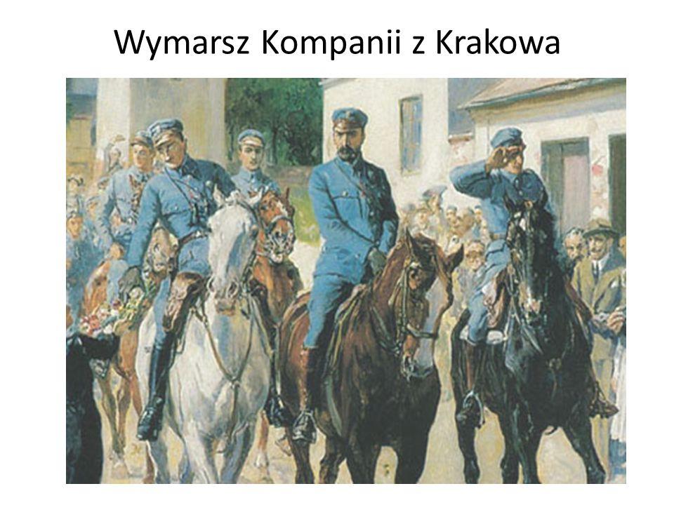 Wymarsz Kompanii z Krakowa