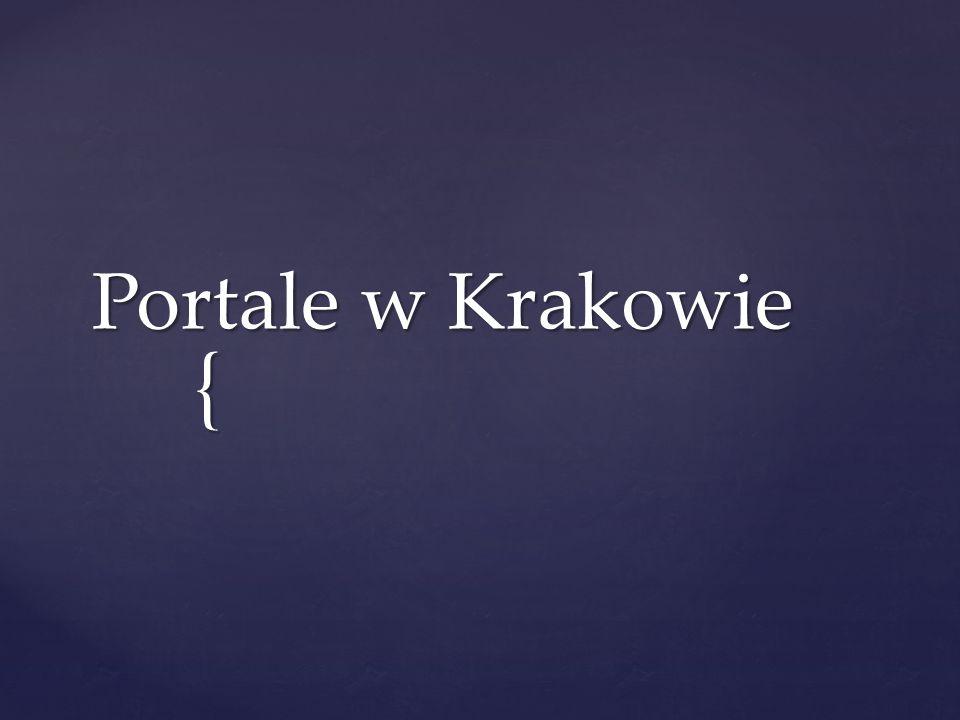 Portale w Krakowie