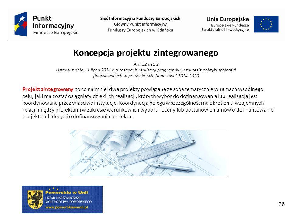 Koncepcja projektu zintegrowanego