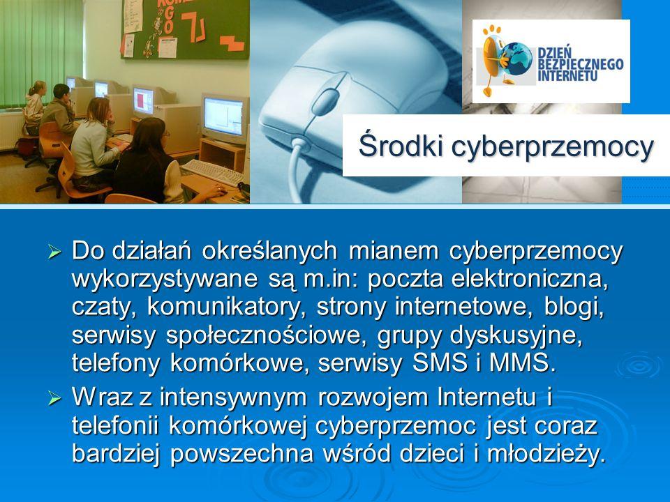 Środki cyberprzemocy
