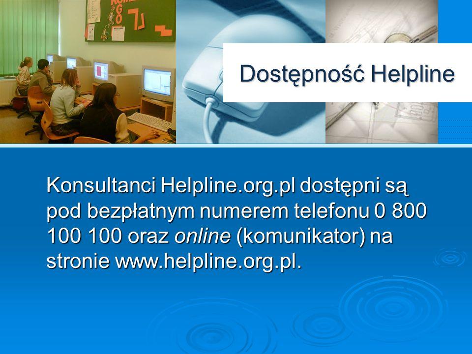 Dostępność Helpline