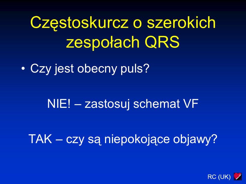 Częstoskurcz o szerokich zespołach QRS