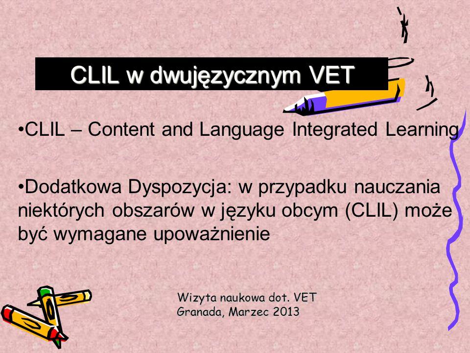 CLIL w dwujęzycznym VET