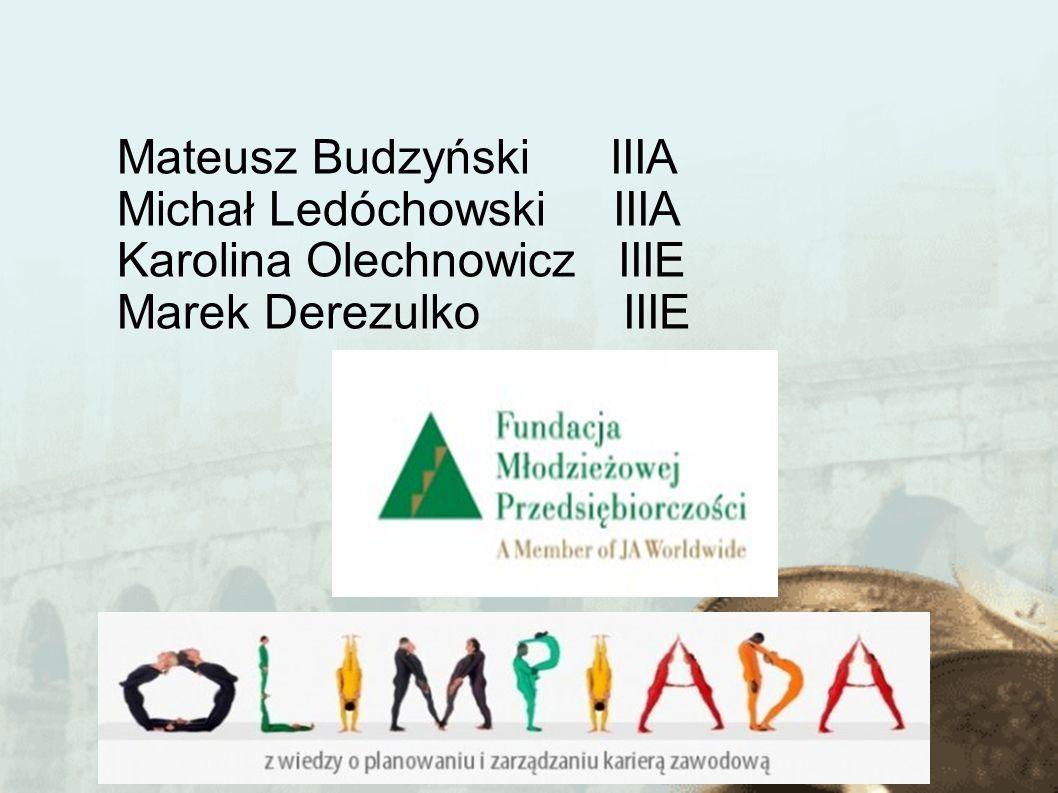 Mateusz Budzyński IIIA