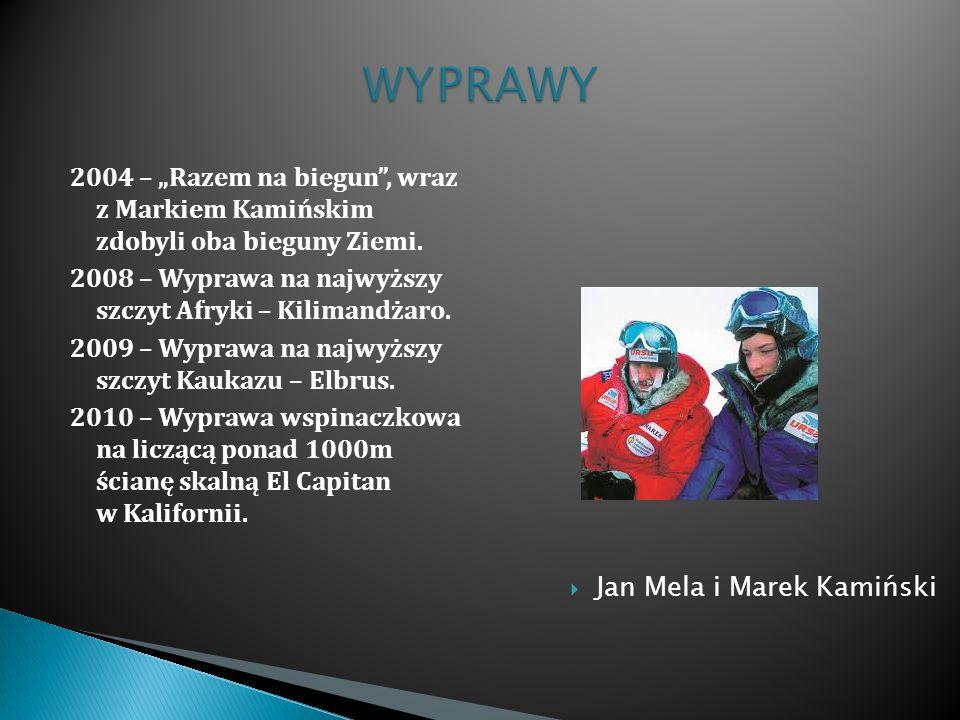 Jan Mela i Marek Kamiński
