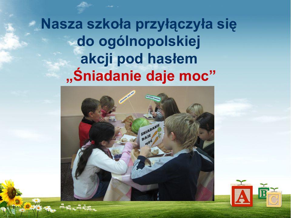 Nasza szkoła przyłączyła się do ogólnopolskiej akcji pod hasłem