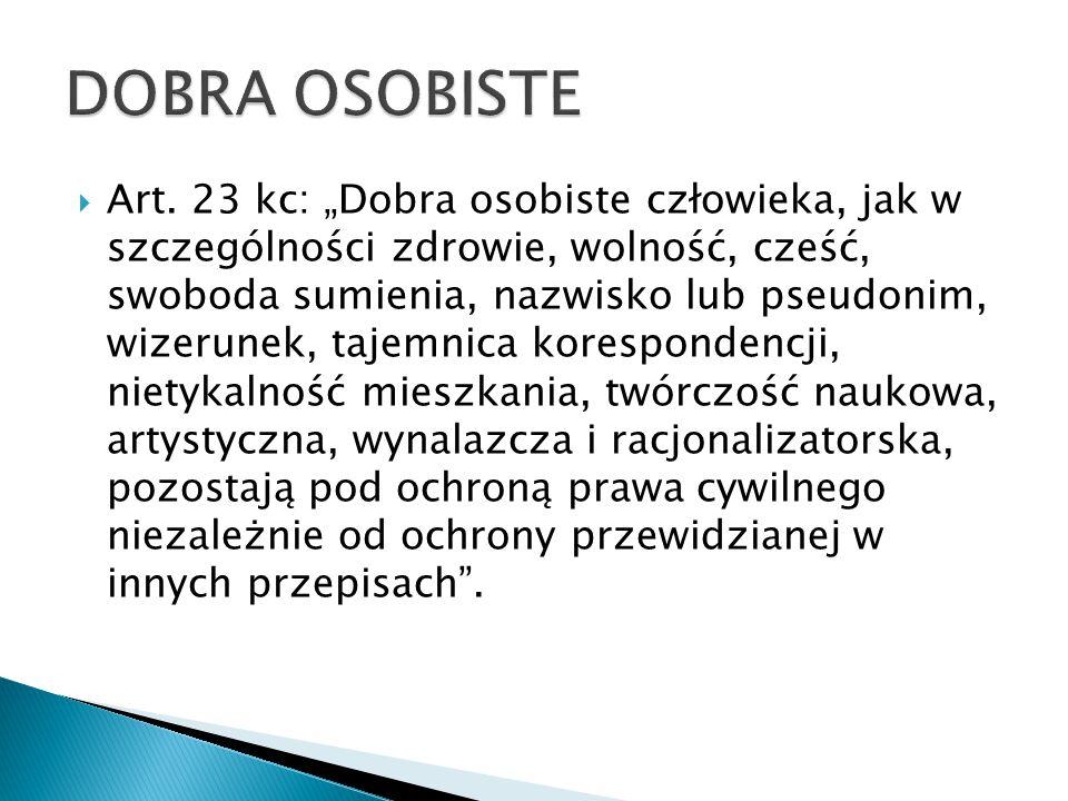 DOBRA OSOBISTE