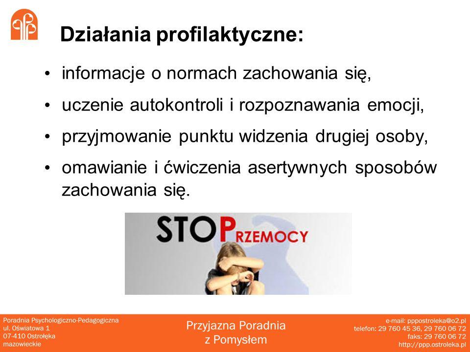 Działania profilaktyczne: