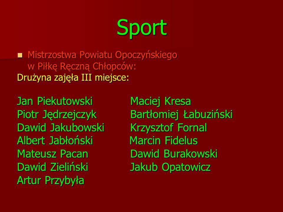 Sport Jan Piekutowski Maciej Kresa