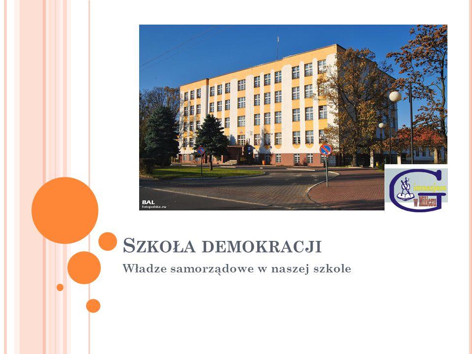 Władze samorządowe w naszej szkole