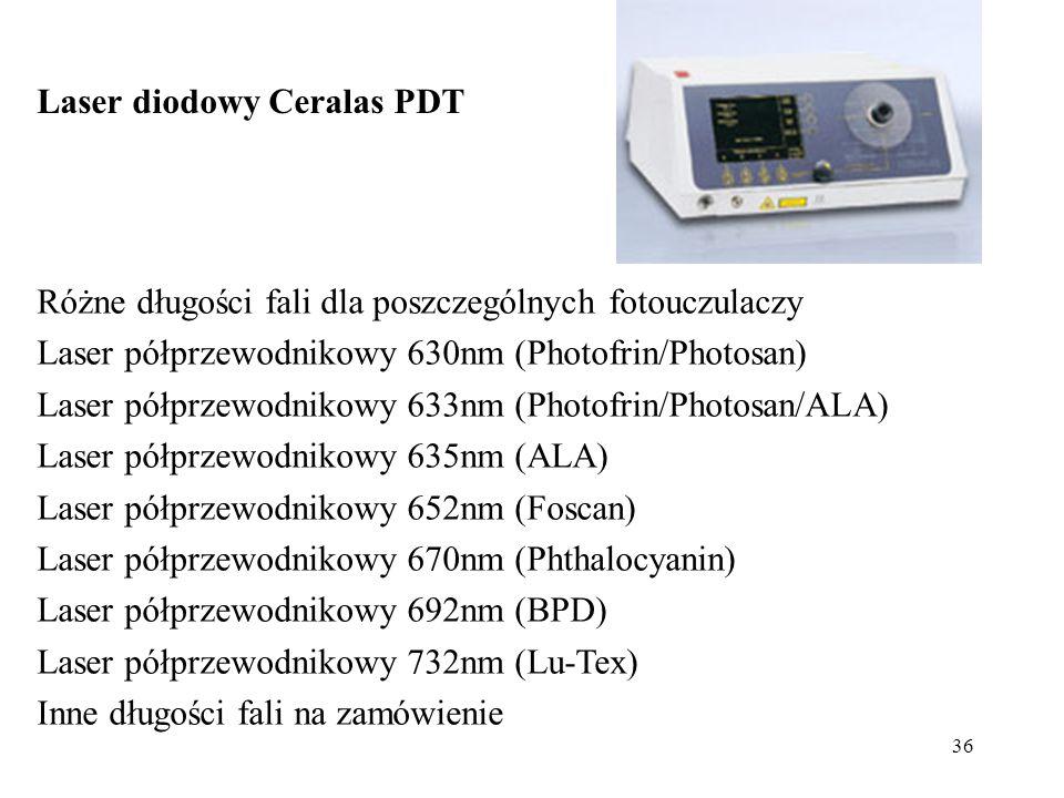 Laser diodowy Ceralas PDT