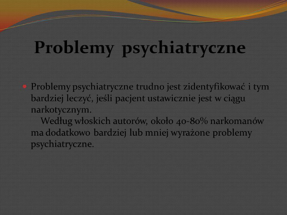 Problemy psychiatryczne