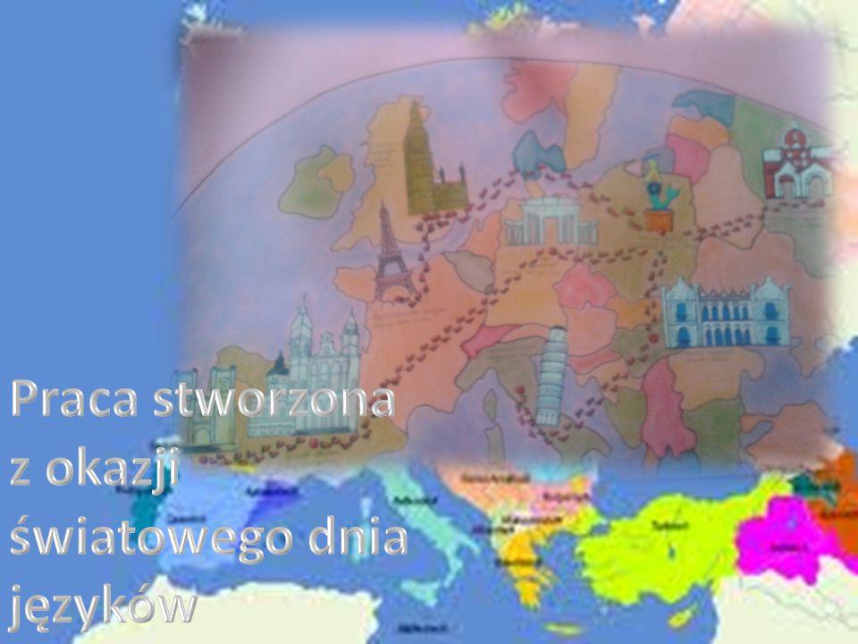 Praca stworzona z okazji światowego dnia języków