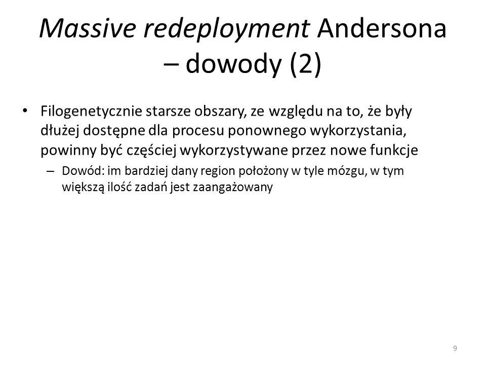Massive redeployment Andersona – dowody (2)