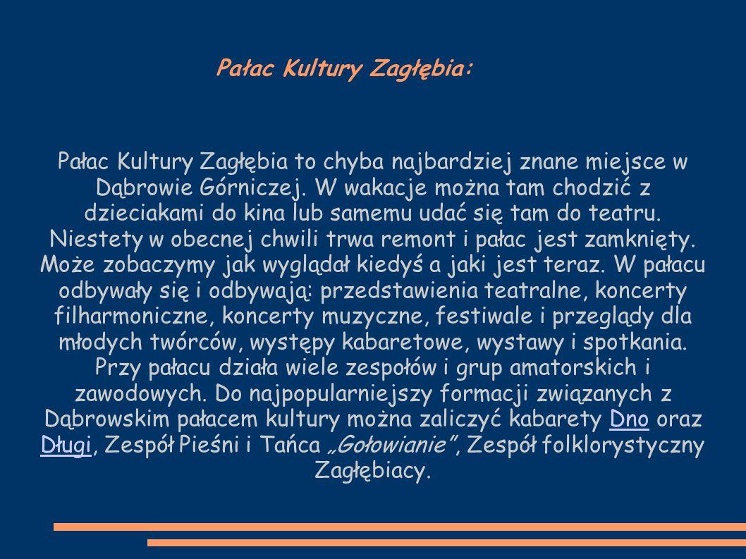 Pałac Kultury Zagłębia: