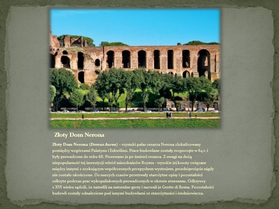 Złoty Dom Nerona