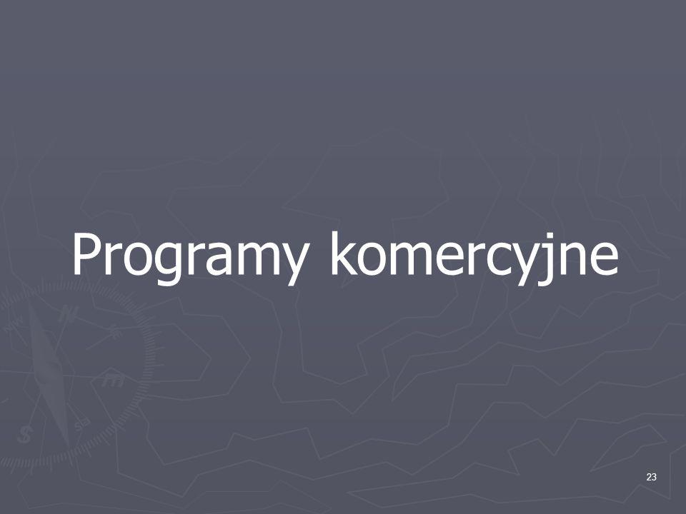 Programy komercyjne