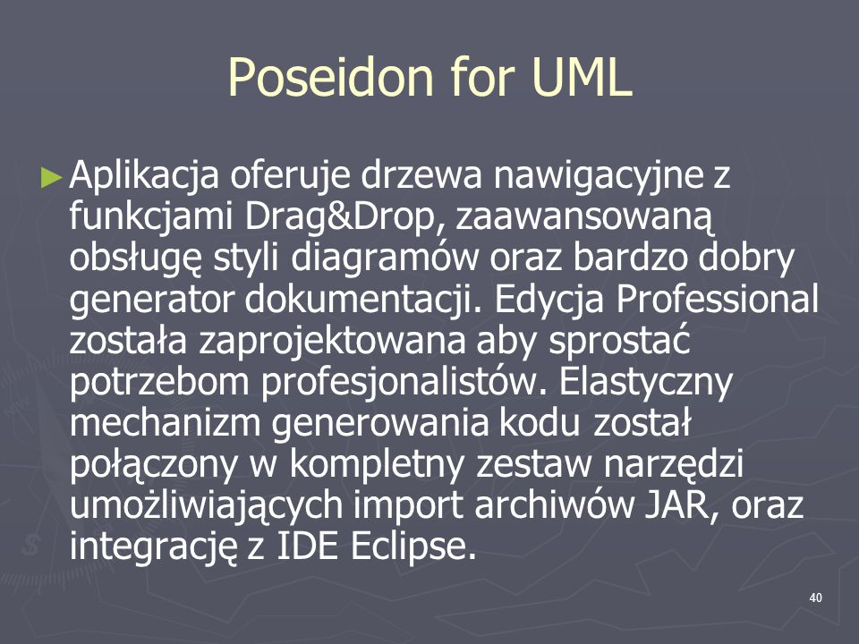 Poseidon for UML