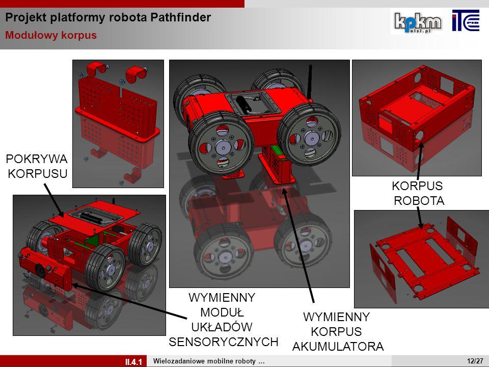 Projekt platformy robota Pathfinder